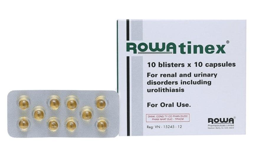 Thuốc trị sỏi thận rowatinex