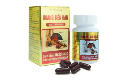 cách dùng thảo dược trị gout