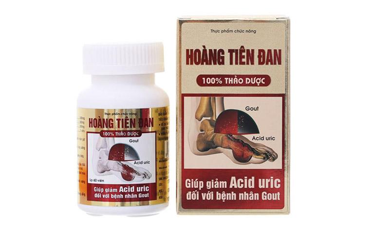 bài thuốc đông y trị gout